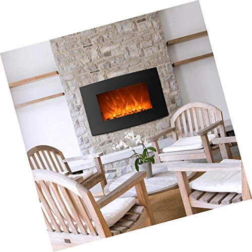 Cheap Electric Wall Mounted Fireplace Heater 2-in-1 35