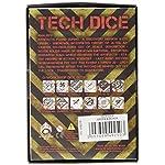 "Q Workshop QWOTEC15 Tech Dice Green/Black 7"" Card Game 7"
