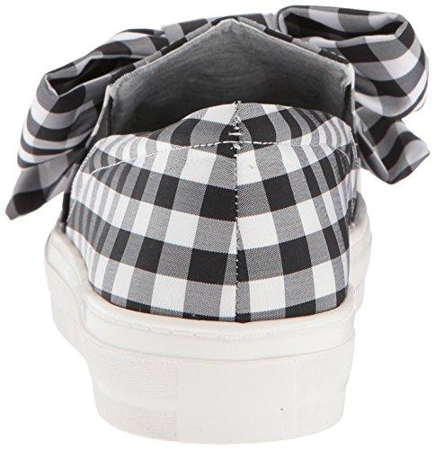 Sneaker In Tessuto Moda Nove Delle Donne Dellovest Onosha Tessuto Nero / Bianco