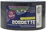 Pacon Bordette Decorative Border, Black, 2.25 in