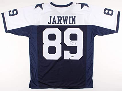 ef99c95e914 Image Unavailable. Image not available for. Color: Blake Jarwin #89 Signed Dallas  Cowboys Jersey ...