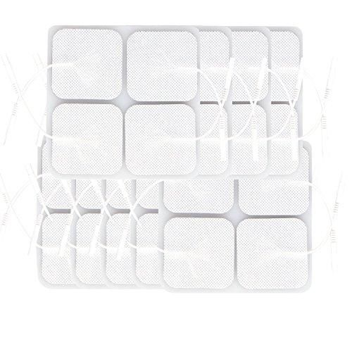 Kuroko-tens-pads-Electrodes-9-Packs-of-36-Electrodes-Each-with-Preferred-Comfortable-White-Cloth-with-Gel-Adhesive-for-Multiple-Application-by-Eco-square-shape-55cm
