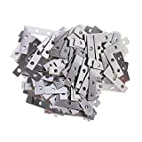 MagiDeal 100 Pieces Heavy Duty Metal L Shape Corner Brace Plate 90 Angle Bracket Photos Frame Picture Bracket 38mmx38mm Furniture Accesories