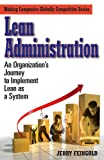 Lean Administration, Jerry Feingold, 0979333113