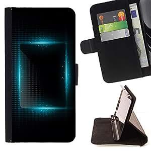 Momo Phone Case / Flip Funda de Cuero Case Cover - Place animée de Black Night - Huawei Ascend P8 (Not for P8 Lite)