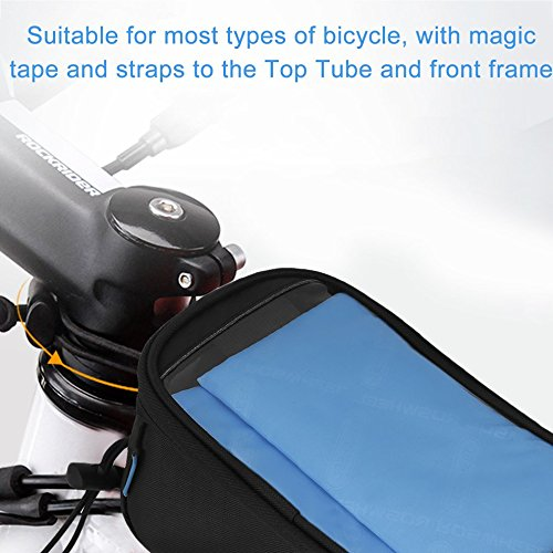 Cycling Bike Front Top Frame Pannier Tube Bag Case Pouch for Cell Phone by CLKJYF
