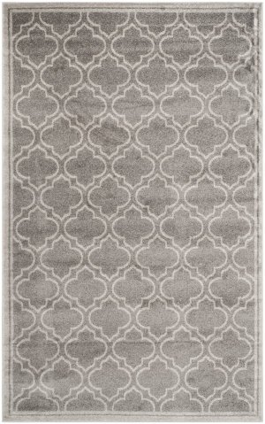 picture of Safavieh Amherst Collection AMT412C Indoor/Outdoor Area Rug, 9-Feet by 12-Feet, Grey and Light Grey