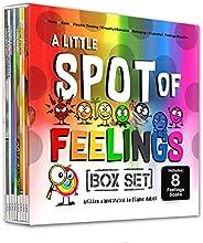A Little SPOT of Feelings 8 Book Box Set (Book 25-32: Empathy, Frustration, Calm, Belonging, Worry, Boredom, F