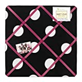 Sweet JoJo Designs Hot Dot Modern Fabric Memory/Memo Photo Bulletin Board