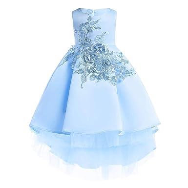 MallFun Chicas Bowknot Vestido de Princesa Traje de Boda de Flores ...