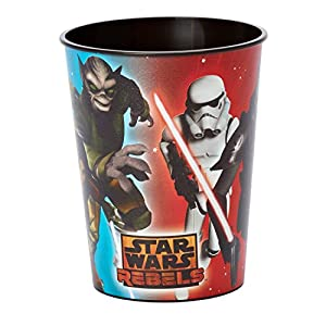 American Greetings Star Wars Rebels 16 -Ounce Plastic Party Cup, Party Supplies
