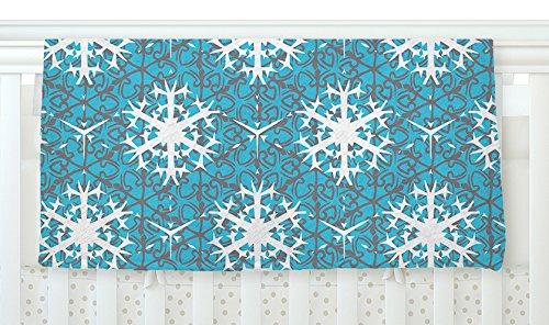 40 x 30 KESS InHouse Miranda Mol Precious Flakes Fleece Baby Blanket
