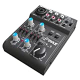 Pyle-Pro 5 Channel Professional Compact Audio Mixer with USB Interface PAD20MXU