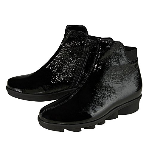 143 Black Waldläufer Boots 001 333803 Women's aAqwCqH