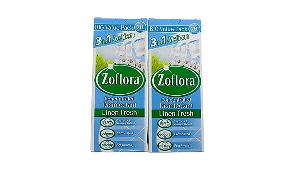 Juego de 2 desinfectantes concentrados antibacterianos de lavanda de 500 ml, de la marca Zoflora: Amazon.es: Hogar