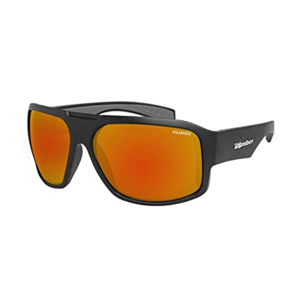 Amazon.com: Bomber – Gafas de sol, Color Mega Bomba mate BLK ...