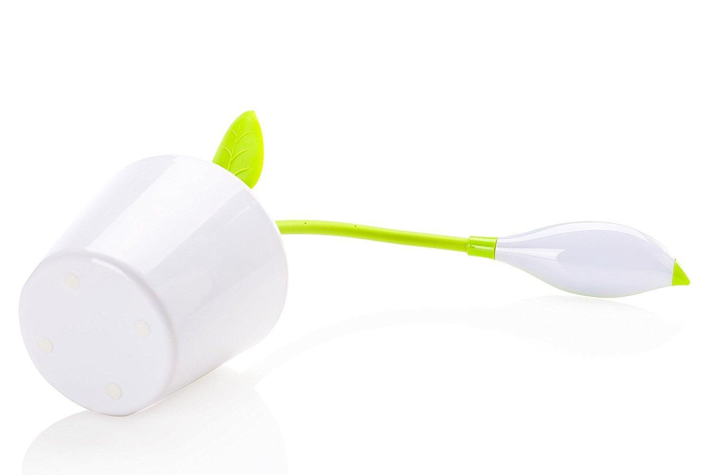Energie-Effizienzklasse A + + eye-protezione Lampe LED 3/Modus Flexible mit Ber/ührungsempfindliche Leuchtmittel Leselampe mit Stifthalter Schreibtischlampe und Tisch mit USB TD015 gr/ün