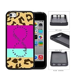 Hakuna Matata Safari Infinity Sign Rubber Silicone TPU Cell Phone Case Apple iPhone 5c