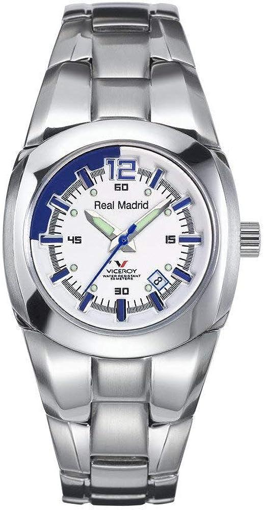 Viceroy 43829-05 - Reloj de Señora movimiento de quarzo con brazalete metálico blanca