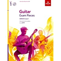 Guitar Exam Pieces from 2019, ABRSM Grade 1, with CD: Selected from the syllabus starting 2019