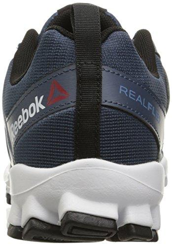 Reebok Menns Realflex Toget 4.0 Trening Sko Konge Skifer / Skifer / Hvit / Svart