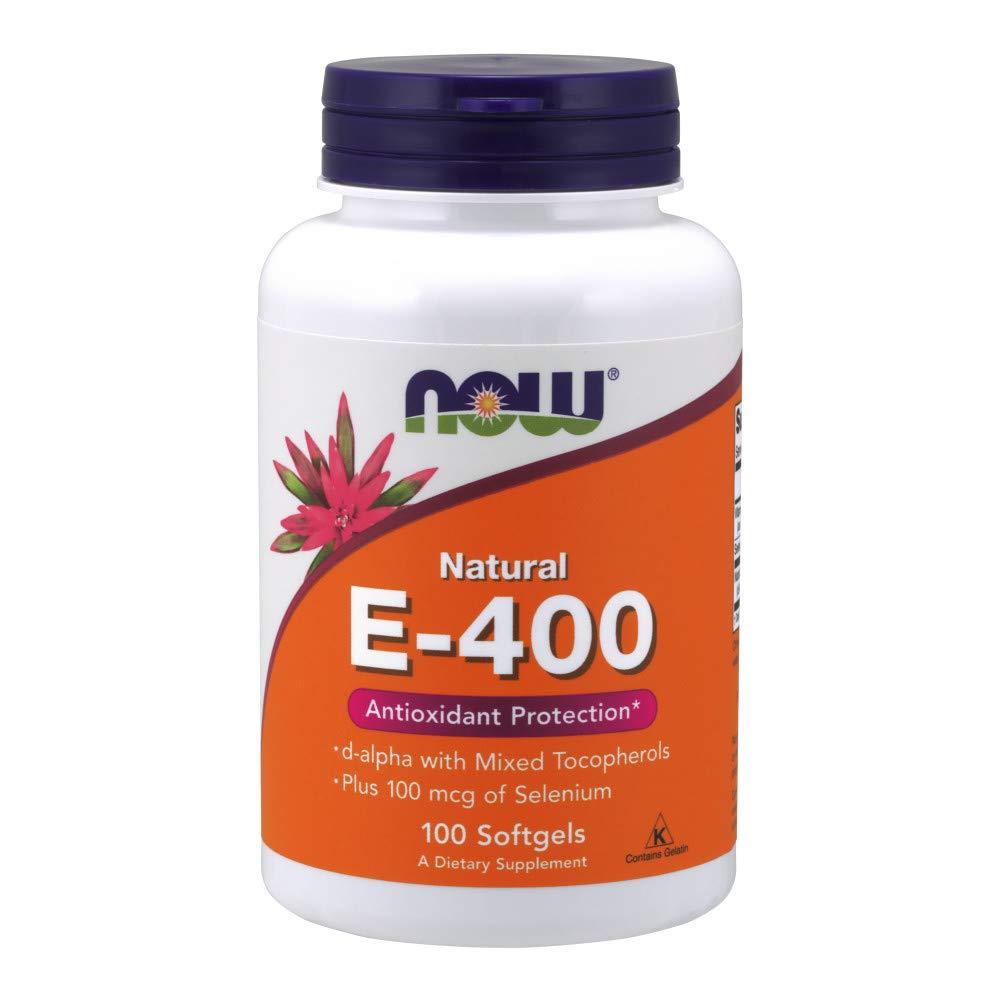 Now Vitamin E-400 IU MT 100 Softgels