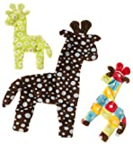 West Paw Design Floppy Giraffe Mini Squeak Toy for Dogs, Assorted, My Pet Supplies