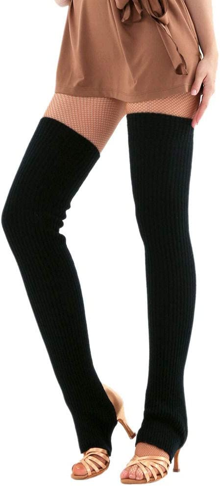 Women Thigh High Over Knee Long Socks Knitted Stockings Ladies Christmas Leg Warmer Soft