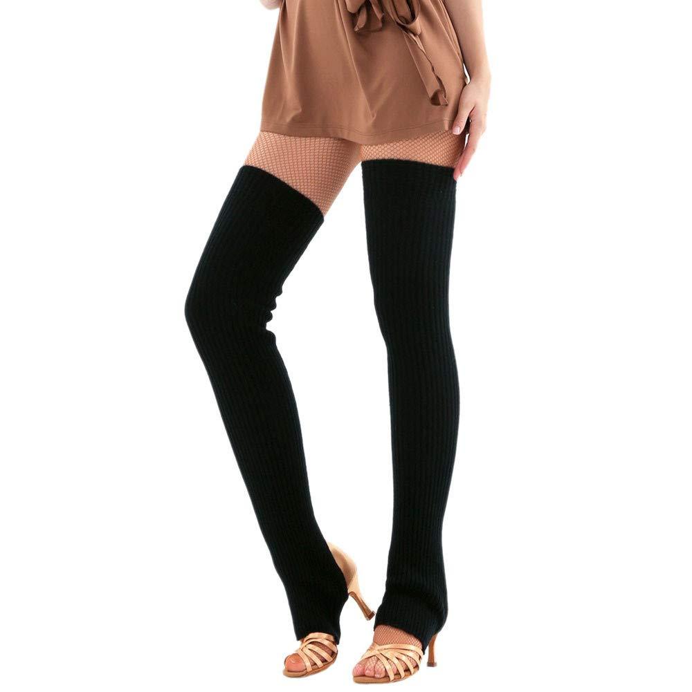 Clearance Sale!Chaofanjiancai Woman Thigh Knitted Leg Warmers Yoga Socks Boot Cover Leggings Slouch Boot Socks