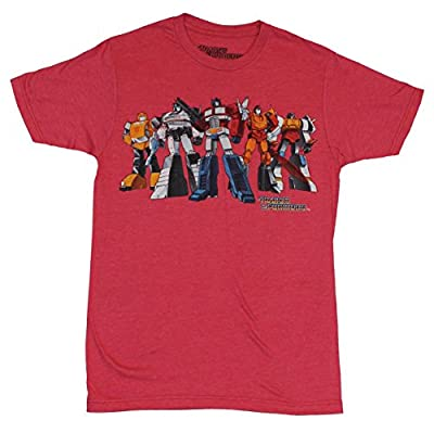 Transformers Mens T-Shirt - Classic Carton Standing Autobot Image Optimus & More