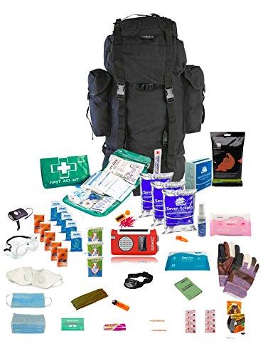 Kit de supervivencia para persona durante h