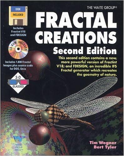 Ilmainen lataus e-kirjoista syttyä varten Fractal Creations/Book, Cd-Rom, Disk and 3-D Glasses in Finnish iBook