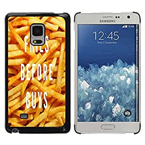 Dragon Case - FOR Samsung Galaxy Mega 5.8 - fries before guys - Caja protectora de pl??stico duro de la cubierta Dise?¡Ào Slim Fit