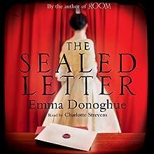 The Sealed Letter | Livre audio Auteur(s) : Emma Donoghue Narrateur(s) : Charlotte Strevens