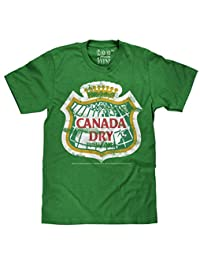 Canada Dry Distressed Logo | Soft Touch Tee