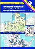 Jübermann Wassersport-Wanderkarten, Bl.1, Deutschland-Nordwest