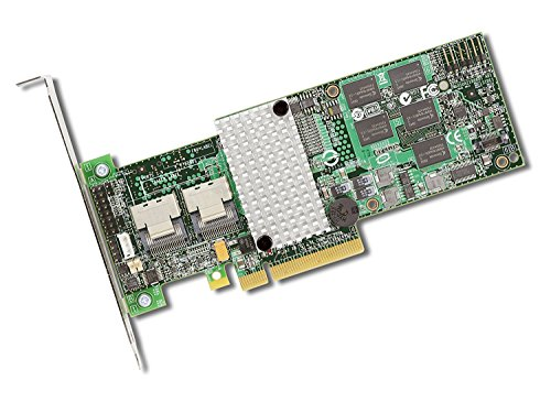 SAS9260-8I Sgl Raid 8PORT Int 6GB Sas/sata Pcie 2.0 512MB by LSI Logic