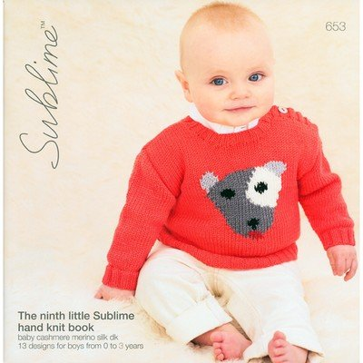 The Ninth Little Sublime Hand Knit Book 653 Baby Cashmerino Silk DK 13 ()