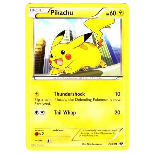 Pokemon - Pikachu (39) - BW - Next Destinies