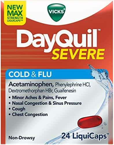 DayQuil Severe Cold & Flu LiquiCaps