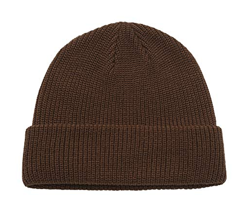 Connectyle Classic Men's Warm Winter Hats Acrylic Knit Cuff Beanie Cap Daily Beanie Hat ()