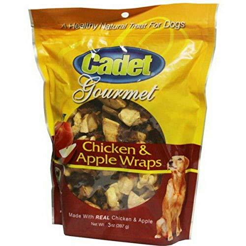 (Cadet Gourmet Chicken & Apple Wraps 2.25lb (12 x 3oz))