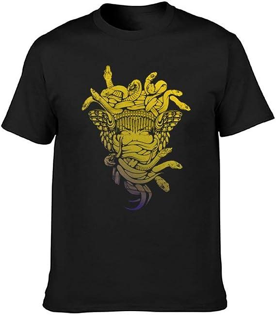 Crooks /& Castles Twin Skull Medusa T-Shirt Black