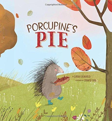 Thanksgiving Classroom Door (Porcupine's Pie)