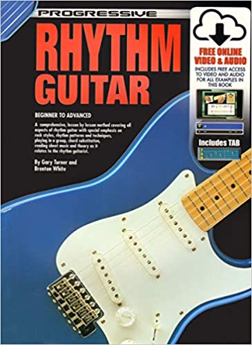 CP54047 - Progressive Rhythm Guitar - Book/CD/DVD: Gary