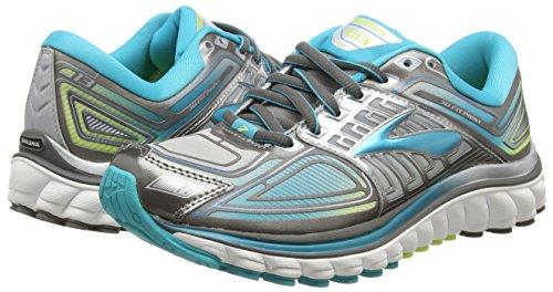 13 Running Brooks Entrainement Noir Metalliccharcoal de Chaussures 030 Glycerin Bluebird Femme Sharpgreen TqRx5wZ