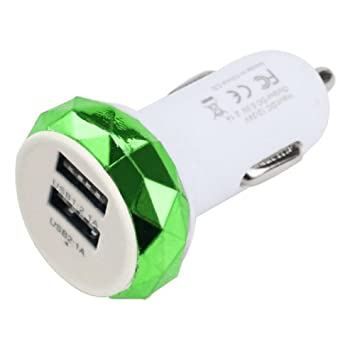 USB adaptador de cargador de coche rápido soufun Dual USB 2 ...