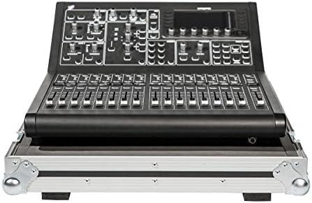 Vuelo funda para Midas M32 Digital mesa de mezclas con ruedas: Amazon.es: Instrumentos musicales