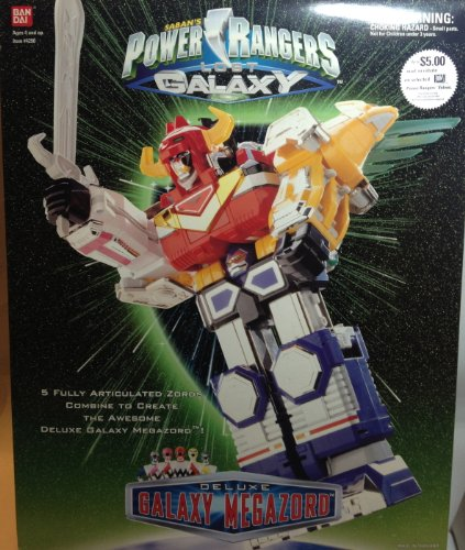 Power Galaxy Rangers (Power Rangers Lost Galaxy Deluxe Galaxy Megazord Action Figure)