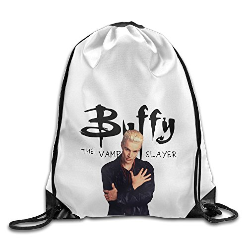 Bekey Buffy The Vampire Slayer Drawstring Backpack Sport Bag For Men & Women For Home Travel Storage Use Gym Traveling Shopping Sport Yoga Running